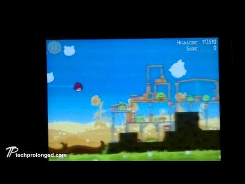 Angry Birds on Nokia E6 - Demo