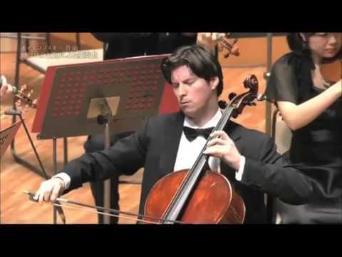 Daniel Müller-Schott in Japan 2015 Tchaikovsky Gala Concert