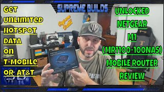 Unlocked Netgear M1 Mobile Router Review w/