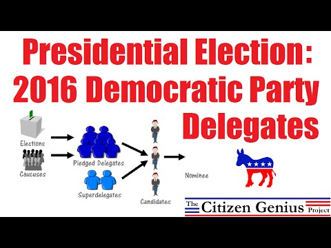 2016 Democratic Party Delegates