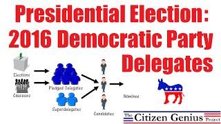 2016 Democratic Party Delegates