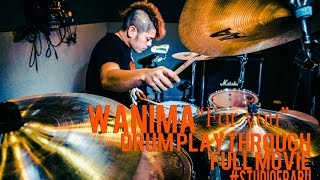 WANIMA - WANIMA - For you DRUM PLAYTHROUGH ------------------------...