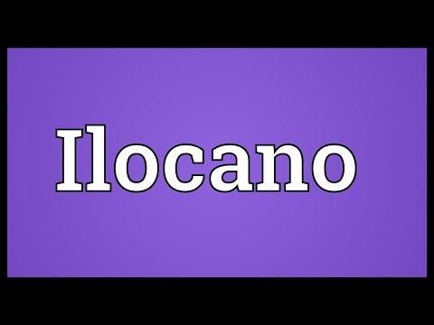 Ilocano Meaning