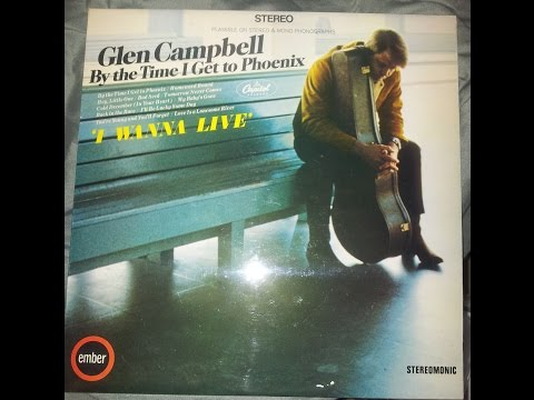 Glen Campbell By The Time I Get To Phoenix Album LP 33⅓ Good Quality