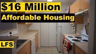 The $16 Million Affordable Housing - Life for Sale
