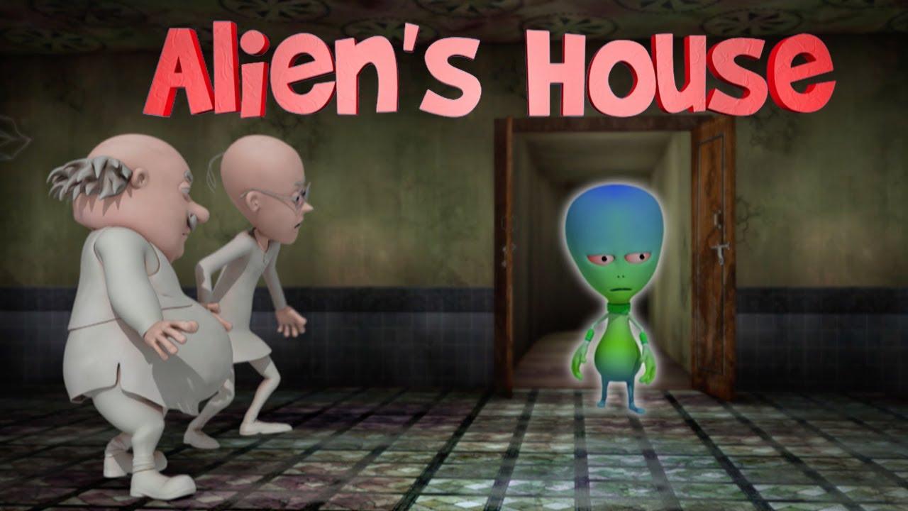 MOTU PATLU | Alien's House | Motu Aur Patlu Ki Jori | Non Stop Fun | Emax Kids