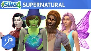 The Sims 4 Supernatural: Official Reveal Trailer - Fanmade