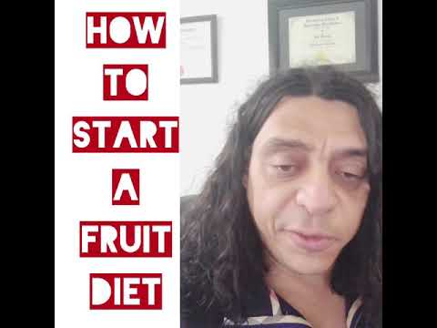How to start a fruit detox - it's simple with detox and detoxification