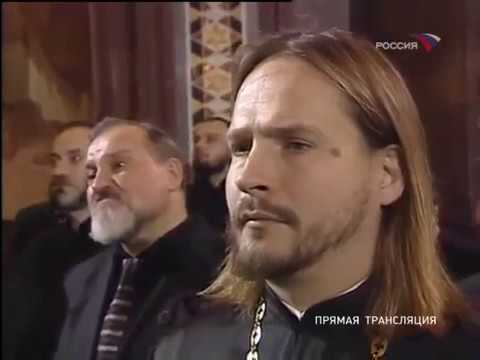 Прощание с Алексием II. Россия, 09 12 2008. Часть 2 я.