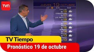 Pronóstico para este jueves 19 de octubre   TV Tiempo