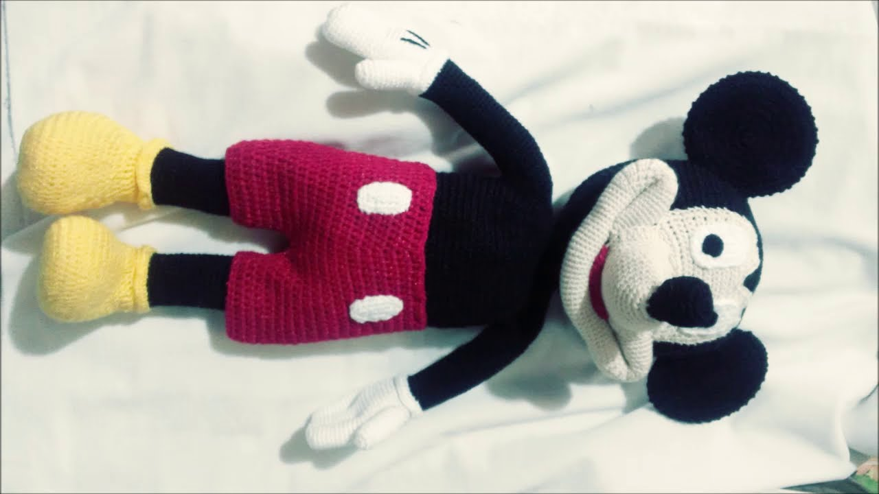Disney TSUM TSUM Amigurumi Mickey Mouse knitting Book kit From ... | 720x1280