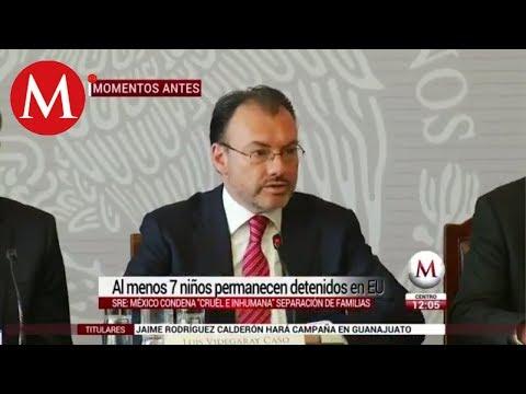 México pide a EU reconsiderar su 'cruel' política migratoria