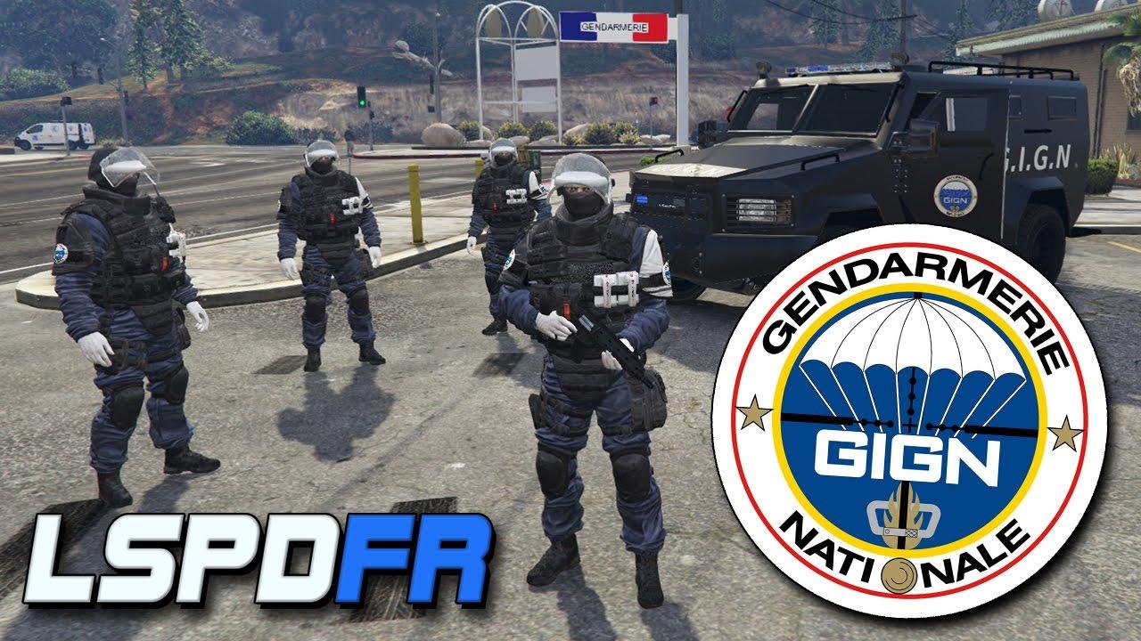 gendarmerie nationale - g i g n - lspdfr gta 5 mods