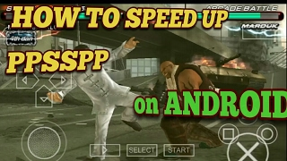 How to run games smoothly on PPSSPP