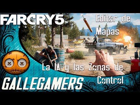 Editor de Mapas de Far Cry 5 #La IA, las Zonas de Control y Sección de Preguntas#