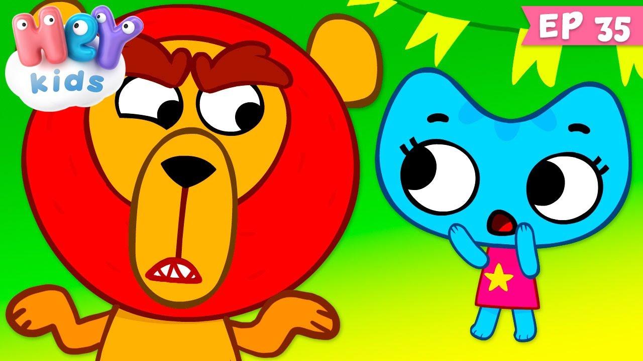 Kit și Keit: Circus furiosus - Desene pentru copii | HeyKids