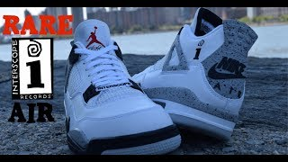 EXCLUSIVE LOOK: FRIENDS & FAMILY INTERSCOPE RECORDS NIKE AIR JORDAN 4 REVIEW!