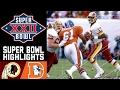 Super Bowl XXII: Redskins vs. Broncos   NFL