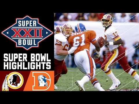 Super Bowl XXII: Redskins vs. Broncos | NFL