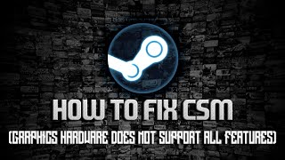 how to actually fix your graphics hardware does not support all features needed to run this game