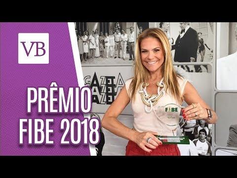 Prêmio Fibe 2018: Carol Minhoto - Você Bonita (13/06/18)