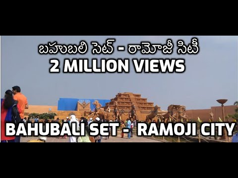 Bahubali Set in Ramoji Film City - Hyderabad