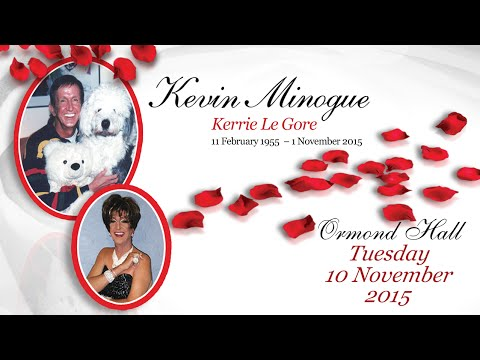 """Kevin Minogue """"Kerrie Le Gore"""" Farewell"""
