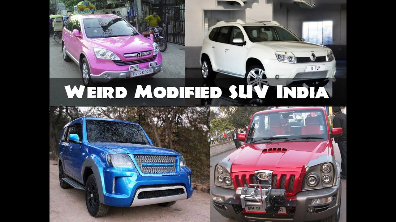 All Time Worst Modified Suv Cars In India Youtube