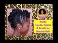★♡★Pin-Up Hairstyle for Proms, Dances, Galas and More on Natural Hair★♡★