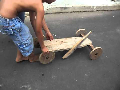 Favoritos CARRINHO COM RODAS DE PAU (MADEIRA) - YouTube JN88