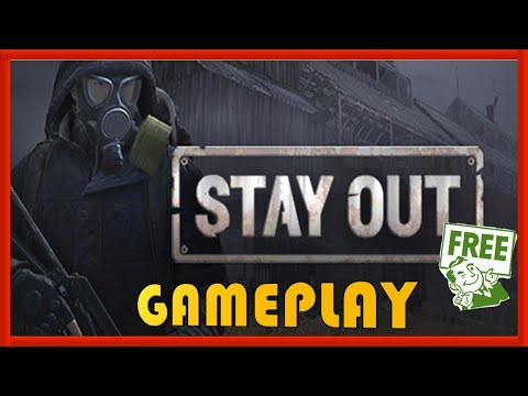 STAY OUT - GAMEPLAY / REVIEW - FREE STEAM GAME 🤑