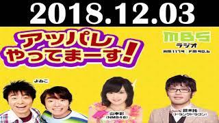 2018 12 03 アッパレやってまーす!よゐこ 山本彩(NMB48) 鈴木拓(ド...