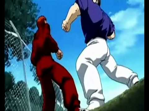mma vs boxing and street fighting anime fight