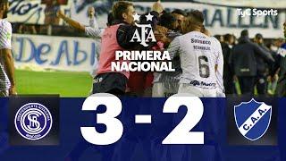 Independiente Rivadavia 3 VS. Alvarado 2 | Fecha 6 | Primera Nacional 2019/2020