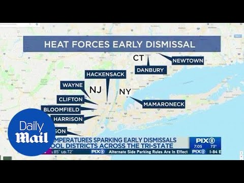 National weather service issues heat advisory on the East Coast