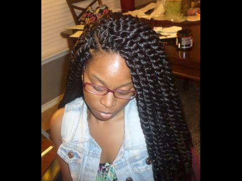 Crochet Box Braids Step By Step : How to - Crochet Braids Twist / Step By Step Tutorial FunnyCat.TV