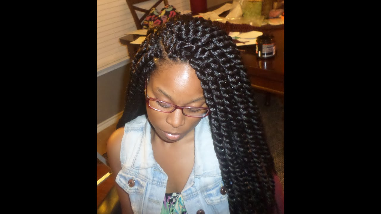 Crochet Braids: Havana Mambo Twists - YouTube