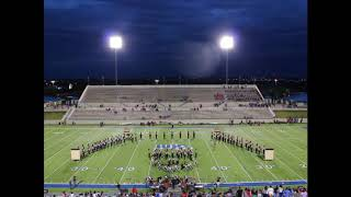 10.12.18 Homecoming Pre Game Show - Waco HS Lion Pride Band - The Labyrinth