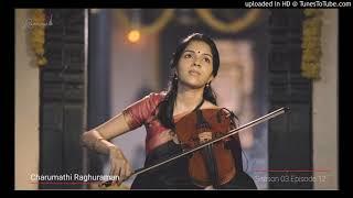 Charumathi Violin Dwaitamu sukhama Reethigowla