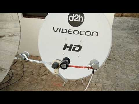 1 dish with multi satellite