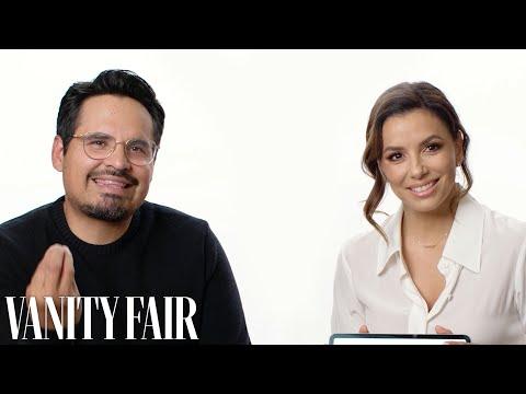 Louie Cruz - Michael Pena and Eva Longoria Teaches Us Mexican Slang!
