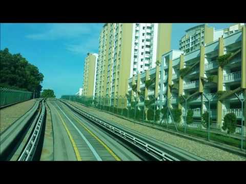 SMRT LRT Choa Chu Kang---Bukit Panjang----Choa Chu Kang