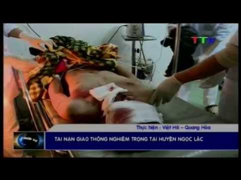 Thanh Hoá-Tai nạn giao thông nghiêm trọng tại huyện Ngọc Lặc