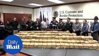 Philadelphia police seize $38 million worth of cocaine