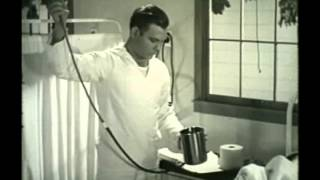 Repeat youtube video Enema administration 1944