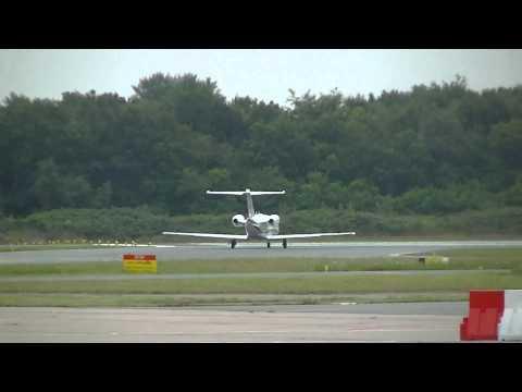 Globe Air Cessna 510 Citation op Groningen Airport Eelde
