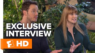 Chris Pratt and Bryce Dallas Howard Talk 'Classic Jurassic' | Jurassic Park Fansite