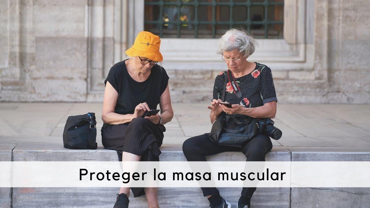 Proteger la masa muscular en adultos mayores y personas con discapacidad