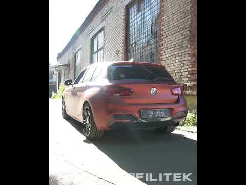 Тюнинг выхлопной системы BMW 118i F20