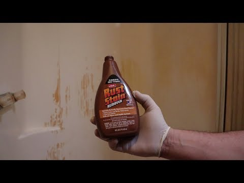 BEST RUST/HARD WATER STAIN REMOVER EVER!!! (Must See)